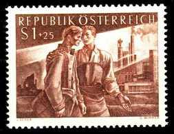 ÖSTERREICH 1955 Nr 1019 Postfrisch S894A9E - 1945-60 Ungebraucht