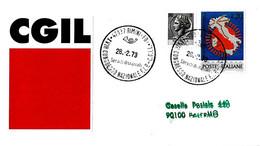 ITALIA - 1973 RIMINI (FO) XVIII Congresso FIP-CGIL Federazione Italiana Pensionati - Organizzazioni