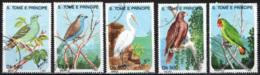 S. TOME' E PRINCIPE - 1993 - UCCELLI - BIRDS - USATI - St. Thomas & Prince