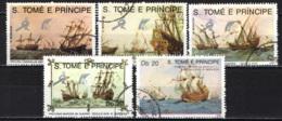 S. TOME' E PRINCIPE - 1989 - Ships - USATI - St. Thomas & Prince