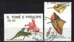 S. TOME' E PRINCIPE - 1989 - Hummingbirds - USATI - St. Thomas & Prince