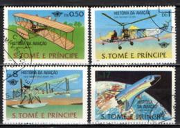 S. TOME' E PRINCIPE - 1979 - STORIA DELL'AVIAZIONE - USATI - St. Thomas & Prince