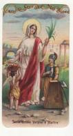 Santino Antico Fustellato Santa Orsola Vergine E Martire - Religion & Esotericism