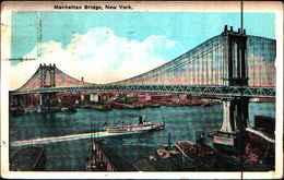 4345) Cartolina Di New York-museum Of Natural History -viaggiata 1924 - NY - New York