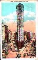 4351) Cartolina Di New York- Time Bulding -viaggiata 1926 - NY - New York