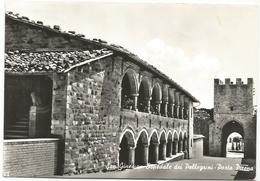 W3241 San Ginesio (Macerata) - Ospedale Dei Pellegrini E Porta Picena / Viaggiata 1964 - Italia