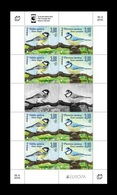 Bosnia And Herzegovina (Croatian) 2019 Mih. 507/08 Europa. National Birds. Fauna. Great Tit And Blue Tit (M/S) MNH ** - Bosnien-Herzegowina