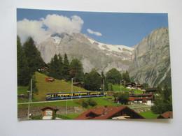 Grindelwald  Le Train Bleu - BE Berne