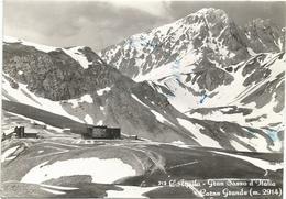 W3250 L'Aquila - Gran Sasso D'Italia - Corno Grande - Panorama / Viaggiata 1959 - L'Aquila