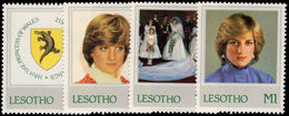 Lesotho 1982 Princess Of Wales Unmounted Mint. - Lesotho (1966-...)