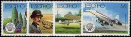 Lesotho 1983 Manned Flight Unmounted Mint. - Lesotho (1966-...)