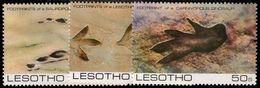 Lesotho 1984 Prehistoric Footprints Unmounted Mint. - Lesotho (1966-...)