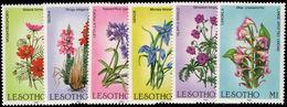 Lesotho 1985 Wild Flowers Unmounted Mint. - Lesotho (1966-...)