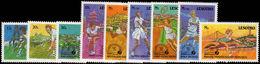 Lesotho 1988 Tennis Federation Unmounted Mint. - Lesotho (1966-...)