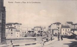 RONDA - PUENTE Y PLAZA DE LA CONSTITUCLON - Málaga