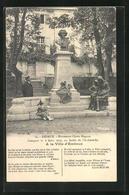 CPA Embrun, Monument Clovis Hugues - Embrun