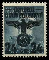 GENERALGOUVERNEMENT Nr 14II Postfrisch X8B51BA - Besetzungen 1938-45