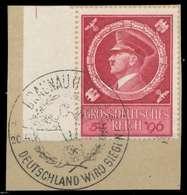 DEUTSCHES REICH 1944 Nr 887 Zentrisch Gestempelt Briefstück X8B51EA - Allemagne