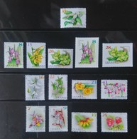 Complete Series Of 2017-2018  Wild Orchids Stamps -(I),(II),(IIa) , (III) & (IV)-orchid Flower Post - Post