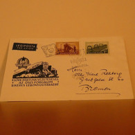 Cover FDC Hungary 1952 - FDC
