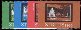 St Kitts 1985 Batik Designs (2nd) Unmounted Mint. - St.Kitts And Nevis ( 1983-...)