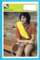 DAMIR JURCIC - Table Tennis AUTOGRAM CARD Svijet Sporta Yugoslavia Tennis De Table Tischtennis Tenis De Mesa Ping-pong - Table Tennis