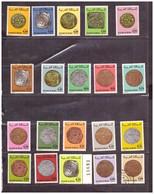 Maroc. 26 Timbres Tous Différents. Diverses Années. Anciennes Monnaies. 3 Oblitérés. - Coins