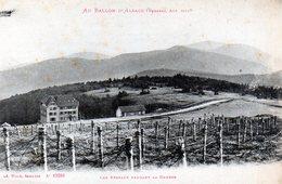 Ballon D'Alsace: Les Réseaux Pendant La Guerre - France