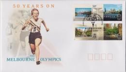 Australia 2006 Melbourne Olympics - 50 Years On FDC - Ersttagsbelege (FDC)