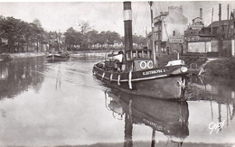 CAEN Le Canal De Caen à La Mer CPSM Edition Gaby N° 55 L'Electrolyse - Caen