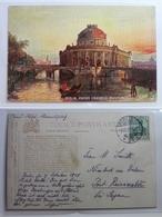 AK Berlin Kaiser Friedrich-Museum Künstlerkarte 1909 Gebraucht #PB493 - Ohne Zuordnung