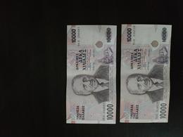 GREECE 2 PCS 10 000 DRAXMES 1995 - Grèce