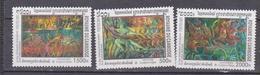 CAMBODIA 2001, MI 2183-2185,, CULTURE KHEMIERE, ARCHAEOLOGY,, SET 3v. MNH - Camboya