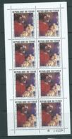 Chad 1969 Paintings 1 Fr Rubens Adoration Of The Magi Sheet Of 8 MNH - Chad (1960-...)