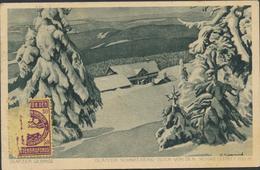 63-232 Germany Deutschland Glatzer Gebirge Sent To Estonia 1923 - Vari