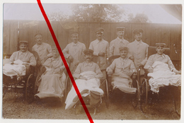 Original Foto - Naumburg (Saale) - 1916 - Lazarett - Stempel Reserve-Lazarett Naumburg, Abt. Schützenhaus - Naumburg (Saale)