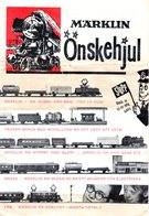 Catalogue  MÄRKLIN ONSKEHJUL 1956 Folder Brochure Swedisch - En Suédois - Livres Et Magazines
