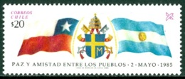CHILE 1985 PEACE TREATY WITH ARGENTINA** (MNH) - Chile
