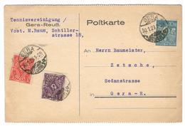18018 - Tarif  15 Marks - Briefe U. Dokumente