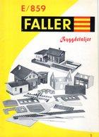 Catalogue  FALLER E/859 Byggdetaljer - Swedisch Ausgabe - En Suédois - Other
