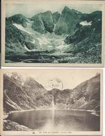 2 CP 65 - Lac D'Oô Et Le Glacier Des Oulettes - Lourdes