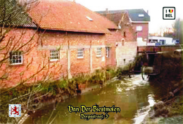 Set 6 Cartes Postales, Bâtiments, Moulins à Eau, Belgium, Erpe, Van Der Biestmolen - Mulini Ad Acqua