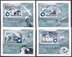 Guinea-Bissau, Birds, Animals, Polar Year LUX S/S MNH / 2007 - Postzegels