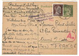 18032 - D'un S.T.O. à HAMBURG - Marcophilie (Lettres)