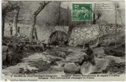 61kom 2050 CPA - CERDAGNE ESPAGNOLE - ENCLAVE DE LLIVIA - Gerona