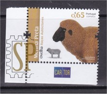 Portugal 2018 Raças Autoctones Ovelha Agriculture Food Crops Farming Fauna Mammals Sheep Mouton Cartor - Gebraucht