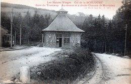 Col De La Schlucht, Gare Du Tramway - France
