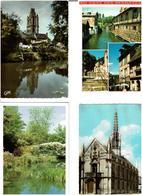 27 / EURE /  Lot De 90 Cartes Postales Modernes écrites - Cartes Postales