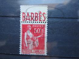 """VEND BEAU TIMBRE DE FRANCE N° 283 III + PUB """" BARBES """" !!! - Publicités"""