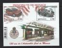 "Monaco Bloc YT 95 "" Automobile Club "" 2009 Neuf** - Blocchi"